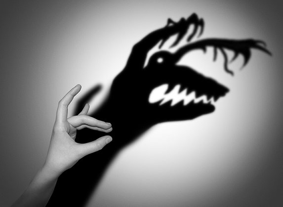 angst-zwart-wit-manmethand